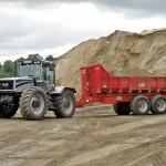 Nosič kontajnerov za traktor