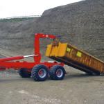 Traktorové nosiče kontajnerov