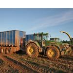 Traktorový nosič kontajnerov