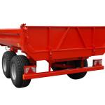Traktorový sklopný vlek