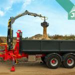 nosič kontajnerov za traktor Bigab 12-15