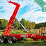 traktorový nosič kontajnerov Bigab 10-14 G2