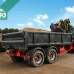 traktorový nosič kontajnerov Bigab 12-15